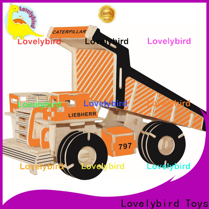 Lovelybird Toys 3d truck puzzle supply for entertainment