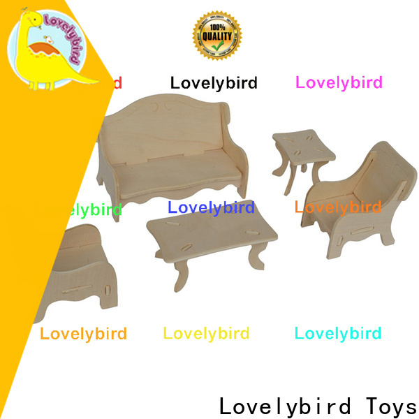 Lovelybird Toys custom 3d puzzle furniture suppliers for adult
