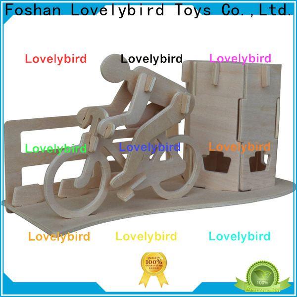 Lovelybird Toys 3d puzzle furniture manufacturers for entertainment