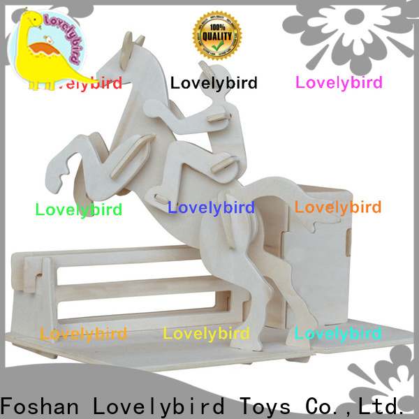 Lovelybird Toys 3d puzzle furniture company for entertainment