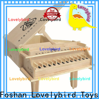 best 3d wooden puzzle dollhouse furniture factory for sale
