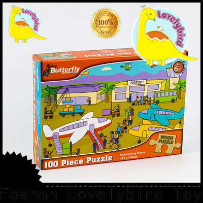 Lovelybird Toys wooden puzzles for adults with frame for kids