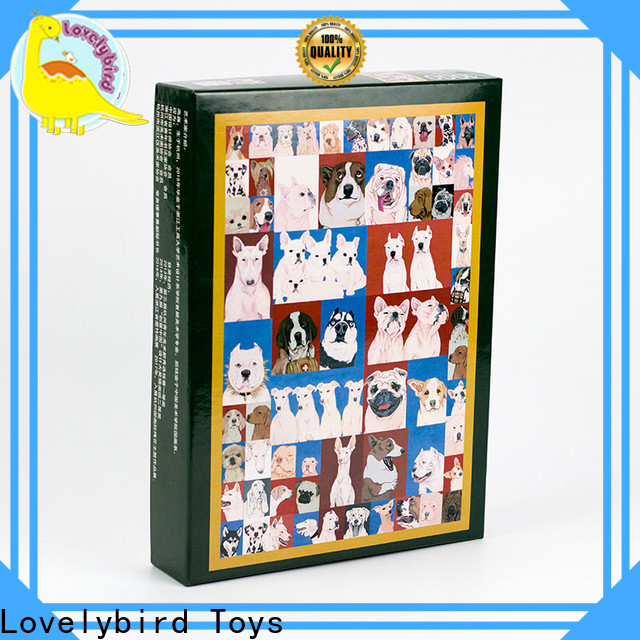 Lovelybird Toys latest disney wooden puzzles with poster for sale