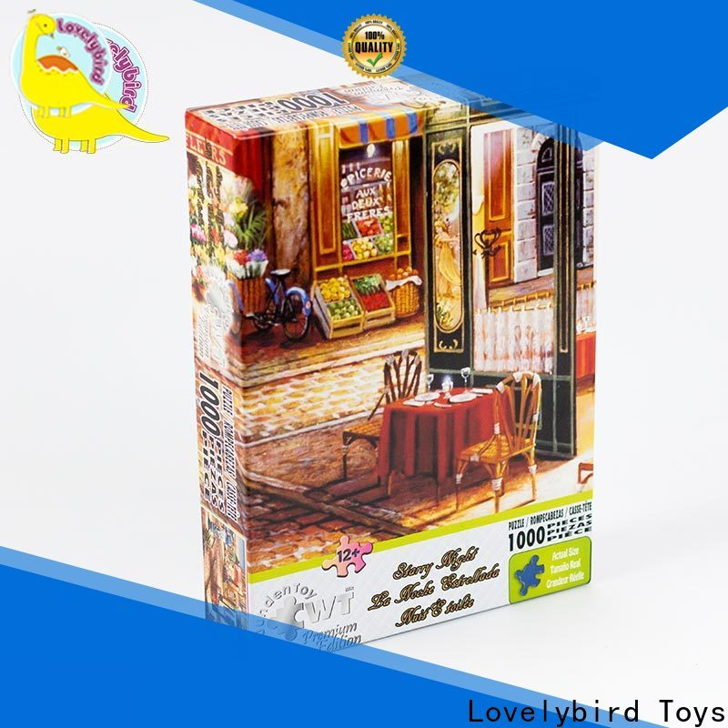 wholesale large piece jigsaw puzzles company for adult