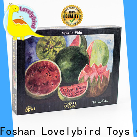 Lovelybird Toys new jigsaw puzzles factory for kids
