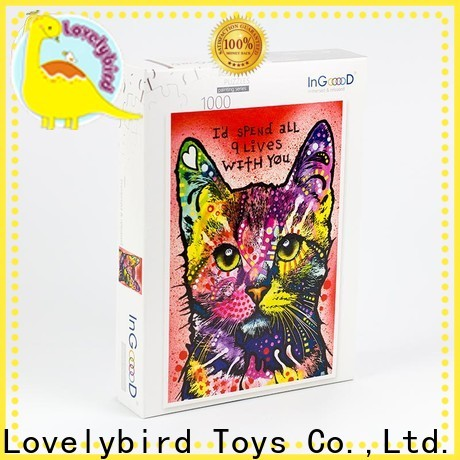 Lovelybird Toys wholesale wooden puzzles for kids toy for sale