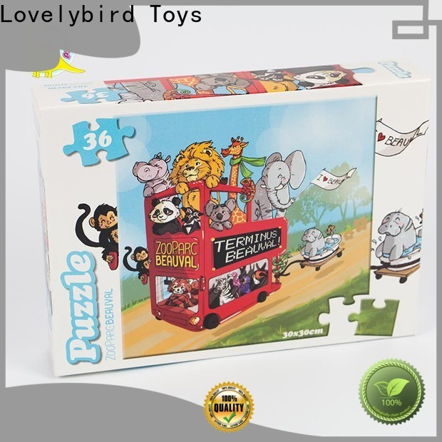 Lovelybird Toys 36 piece puzzle manufacturers for entertainment