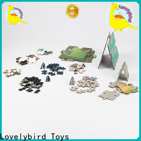 Lovelybird Toys designed the jigsaw puzzles manufacturers for present