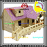 best 3d wooden house puzzles manufacturers for sale