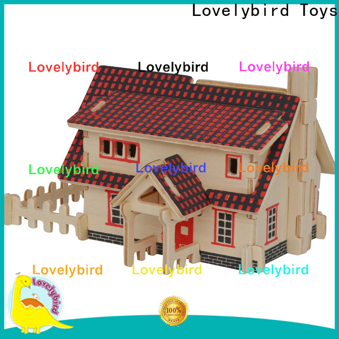 new 3d building puzzle manufacturers for sale