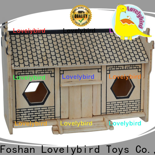 Lovelybird Toys 3d building puzzle factory for sale