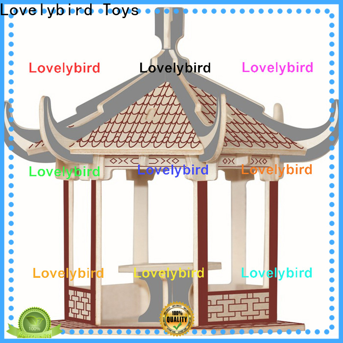Lovelybird Toys top 3d wooden puzzle house suppliers for present