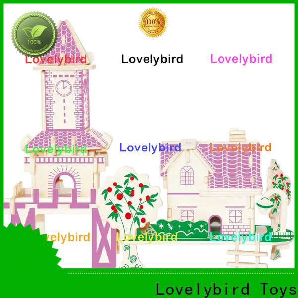 Lovelybird Toys top 3d building puzzle company for business