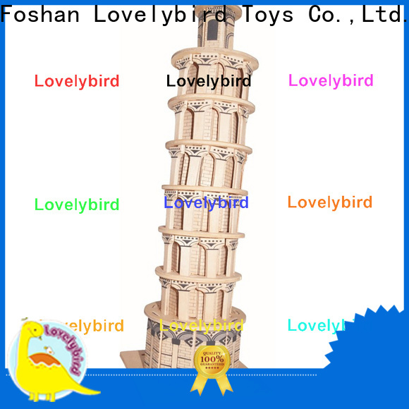 hot sale 3d wooden house puzzles company for sale
