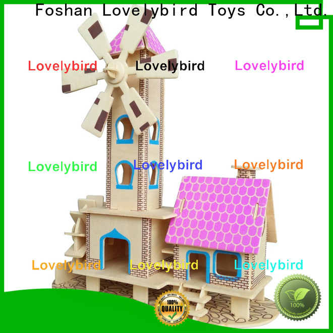 best 3d wooden house puzzles company for present