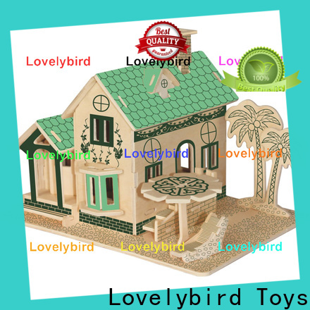 Lovelybird Toys 3d building puzzle company for kids