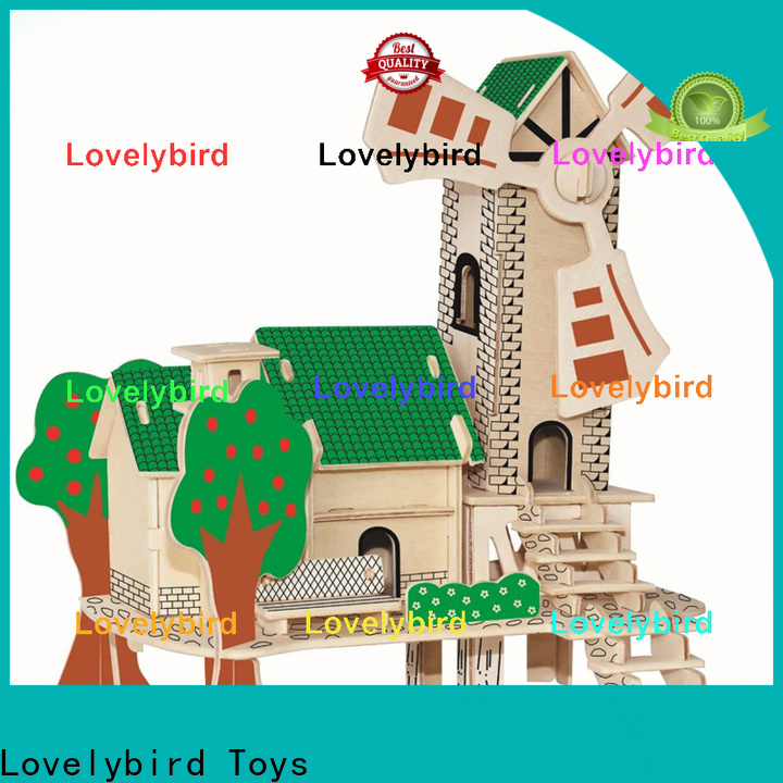 Lovelybird Toys new 3d building puzzle factory for business