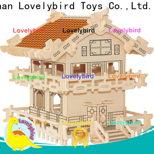 Lovelybird Toys 3d building puzzle factory for adults