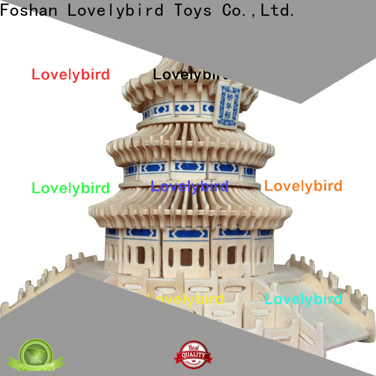Lovelybird Toys interesting 3d wooden puzzle house company for adults