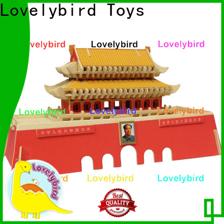 Lovelybird Toys interesting 3d building puzzle factory for kids