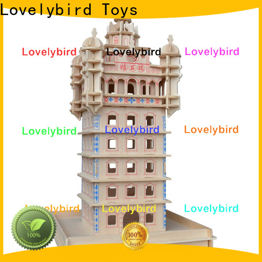 Lovelybird Toys best 3d wooden house puzzles factory for present