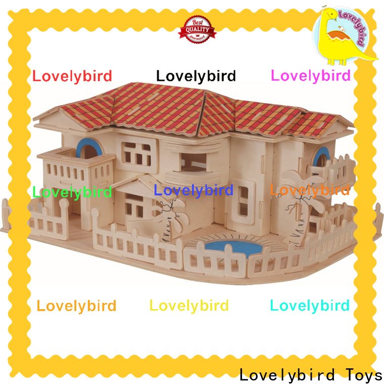 Lovelybird Toys top 3d wooden house puzzles company for kids