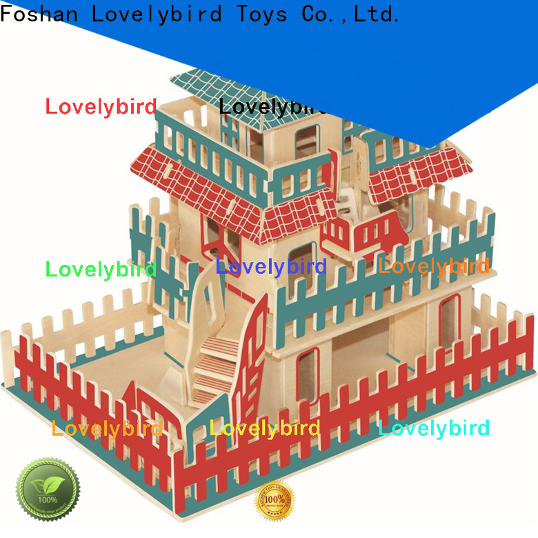 interesting 3d wooden puzzle house manufacturers for adults