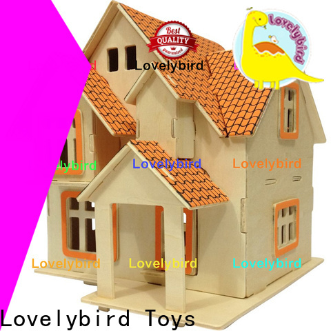 Lovelybird Toys high-quality 3d building puzzle manufacturers for kids