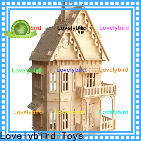 Lovelybird Toys high-quality 3d building puzzle factory for sale