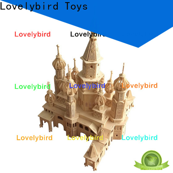 Lovelybird Toys high-quality 3d building puzzle company for business