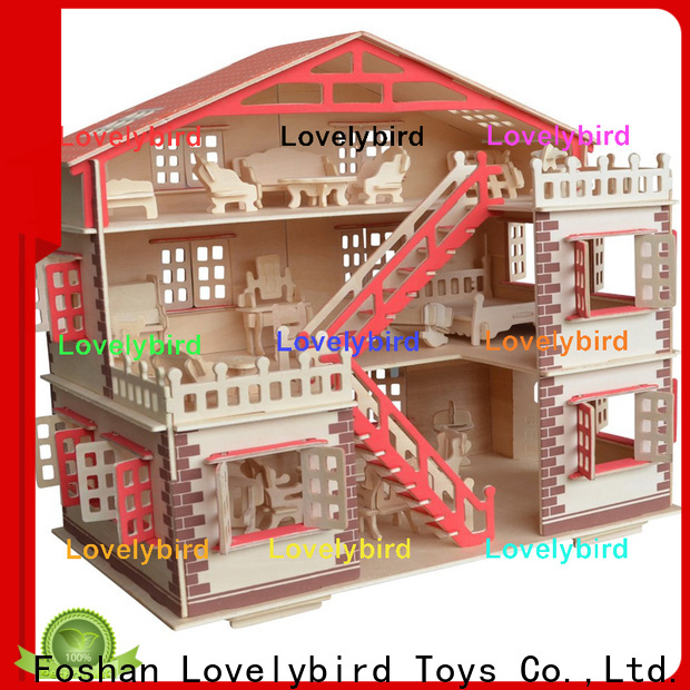 Lovelybird Toys 3d wooden house puzzles company for adults