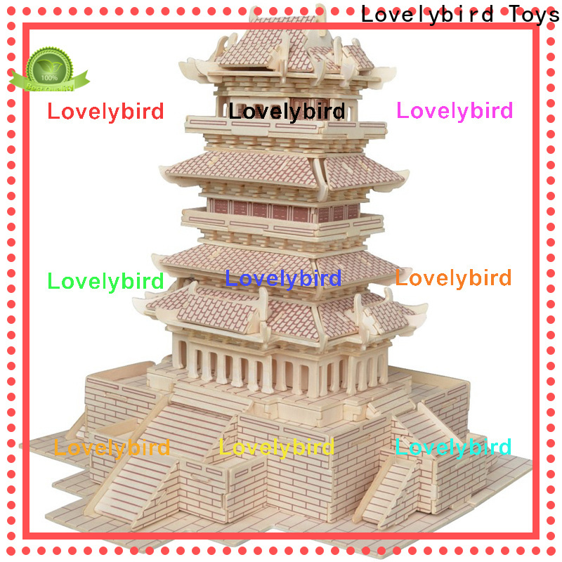 custom 3d building puzzle manufacturers for adults
