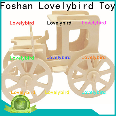 Lovelybird Toys latest 3d airplane puzzle company for business