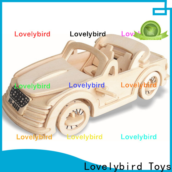 Lovelybird Toys top 3d wooden puzzle car manufacturers for present