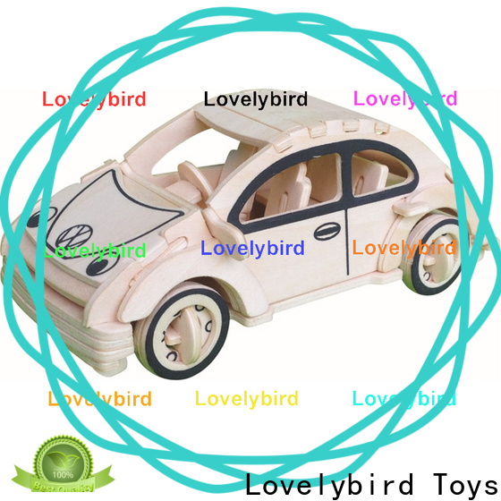 Lovelybird Toys best 3d wooden puzzle car company for sale