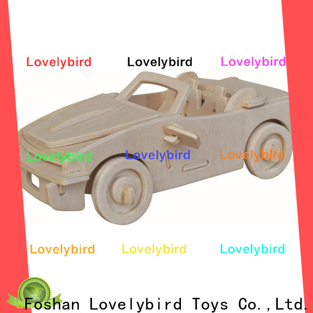 Lovelybird Toys top 3d airplane puzzle suppliers for sale