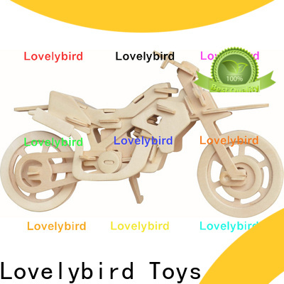high-quality 3d wooden car puzzle supply for sale