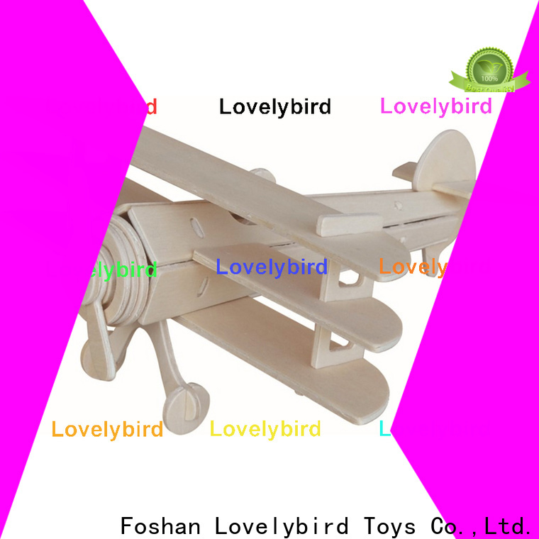 Lovelybird Toys best 3d wooden car puzzle factory for present