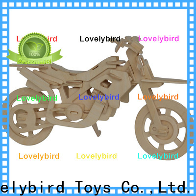 Lovelybird Toys 3d wooden puzzle ship supply for entertainment