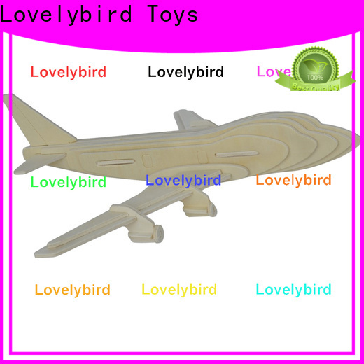 Lovelybird Toys top 3d wooden puzzle ship factory for present