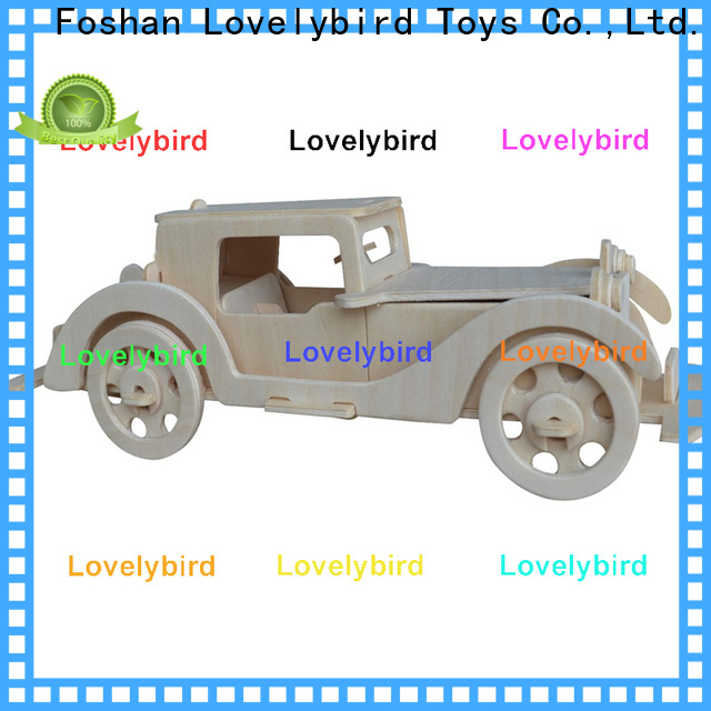 Lovelybird Toys 3d wooden puzzle ship manufacturers for kids