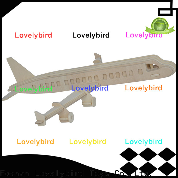 Lovelybird Toys custom 3d wooden puzzle ship suppliers for adults