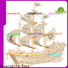 high-quality 3d wooden puzzle ship factory for kids
