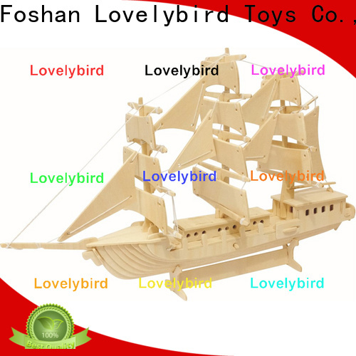 Lovelybird Toys 3d wooden puzzle car supply for adults