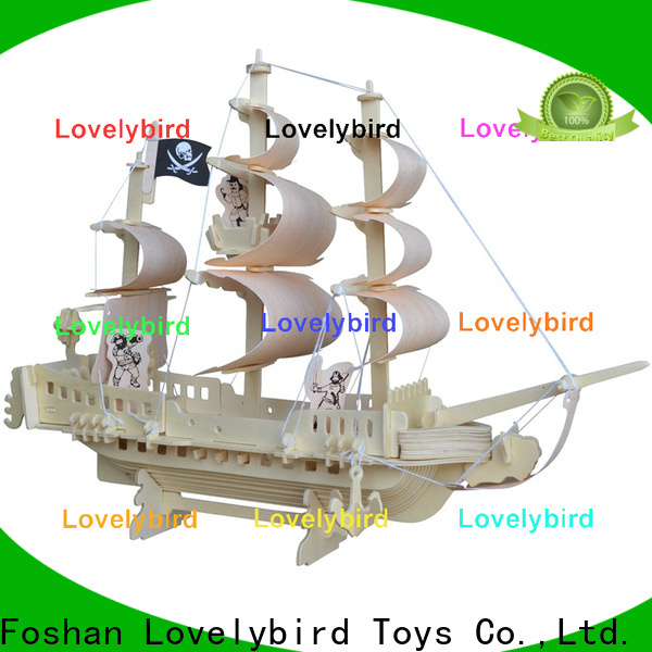 Lovelybird Toys best 3d wooden puzzle car supply for business