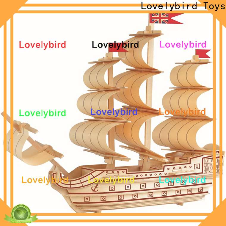 Lovelybird Toys top 3d airplane puzzle manufacturers for present
