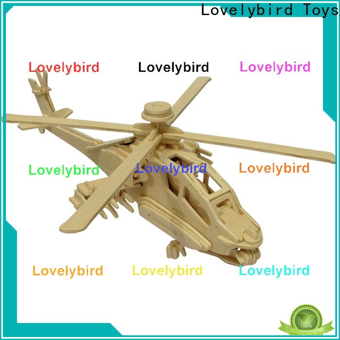 Lovelybird Toys 3d puzzle military factory for kids