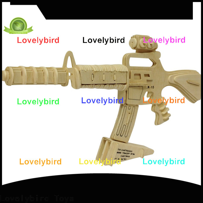 Lovelybird Toys custom 3d puzzle military suppliers for adults