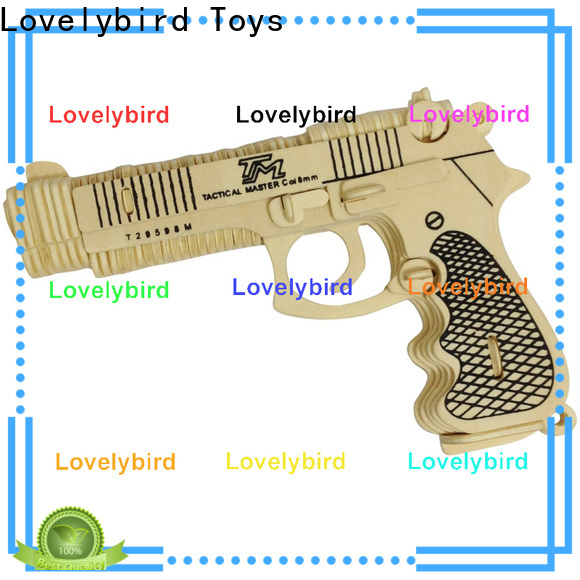 Lovelybird Toys 3d puzzle military factory for present