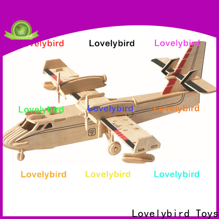 Lovelybird Toys wholesale 3d puzzle military supply for adults